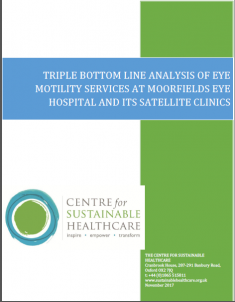 CSH Publications | Centre for Sustainable Healthcare