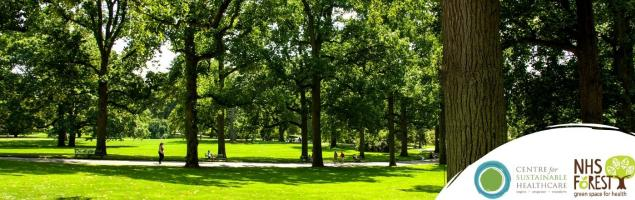 Green space for health positions