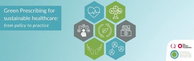 green prescribing for sustainable healthcare